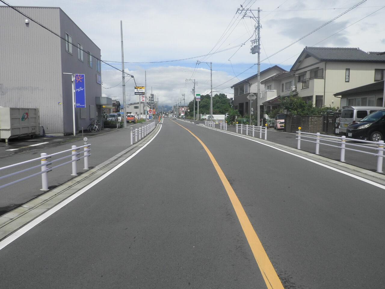 街路改良工事